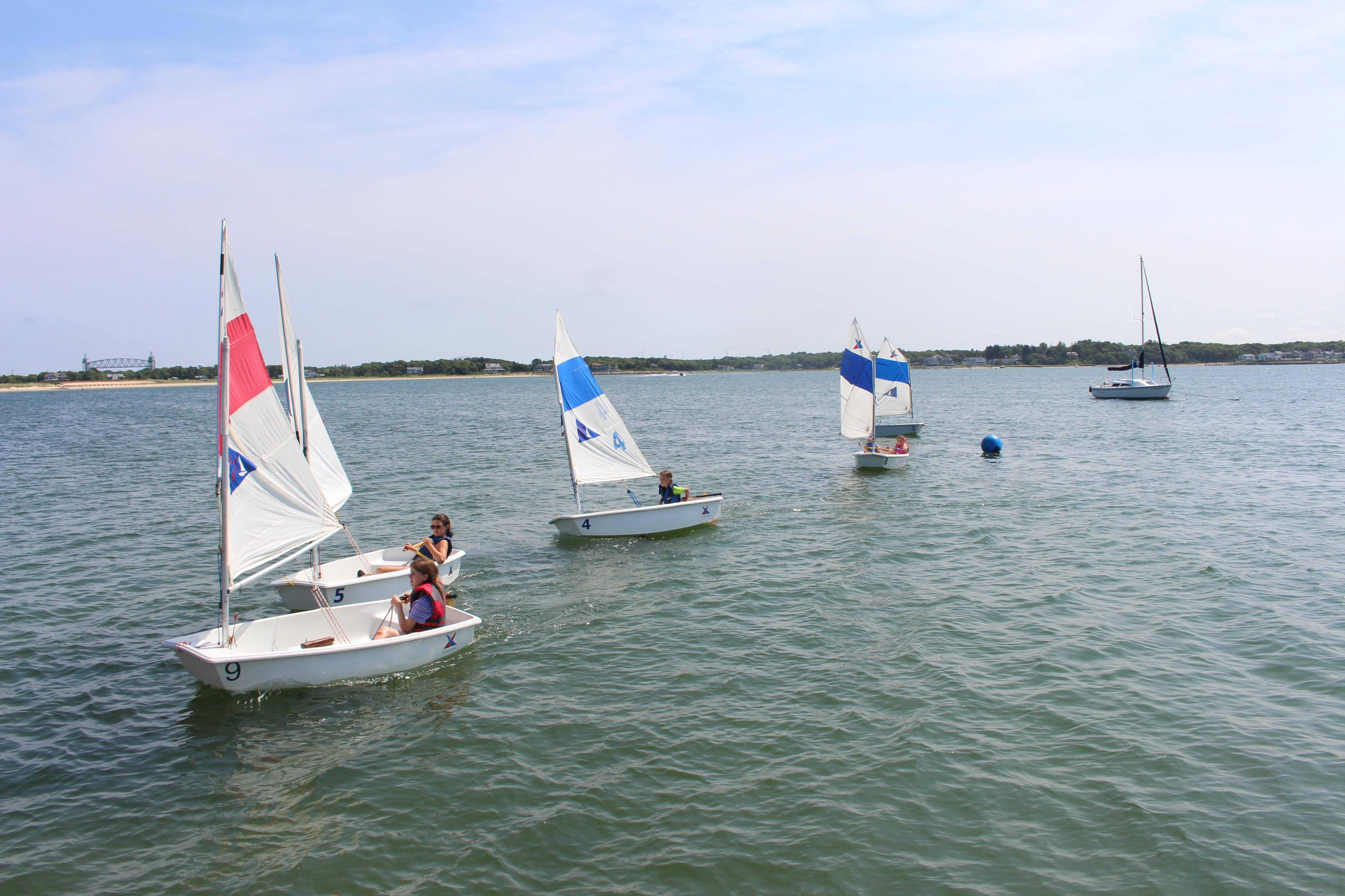 Prams sailing