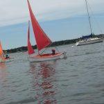 Access dinghys sailing